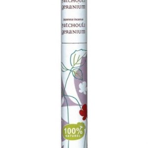 Incenso patchouli e geranio (30 stick)