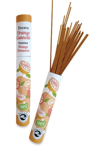 Incenso arancia e cannella (30 stick)