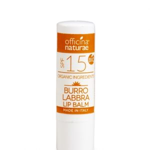 Burro Labbra Bio Solare Spf 15 protezione media