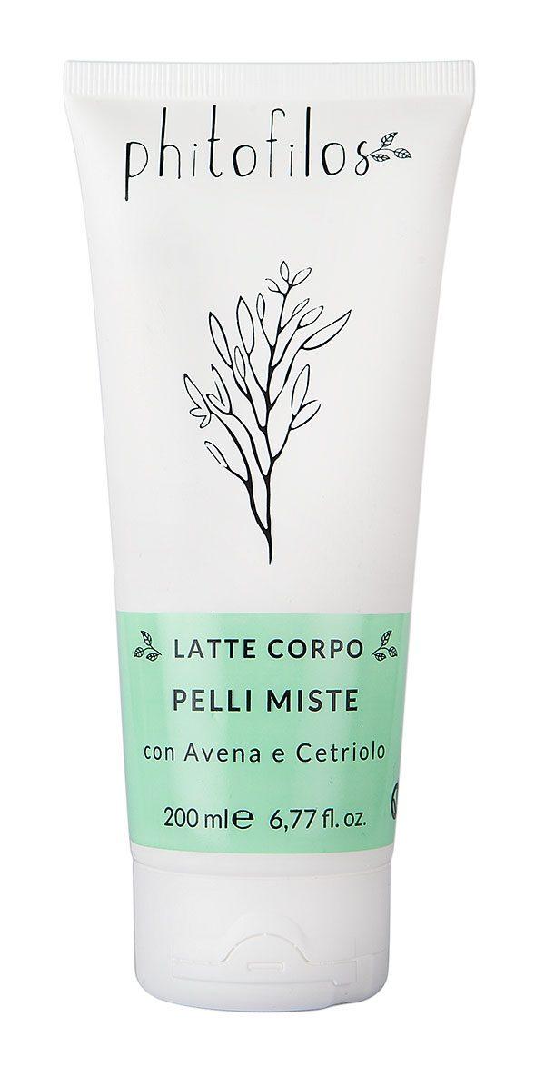 Latte corpo pelli miste con Avena e Cetriolo