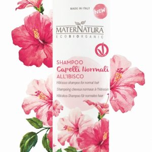 Shampoo Capelli Normali all'ibisco (250ml)