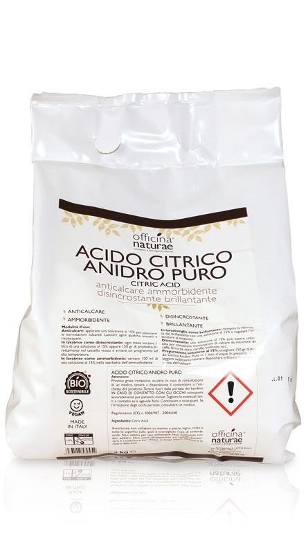Acido citrico anidro puro (3kg)
