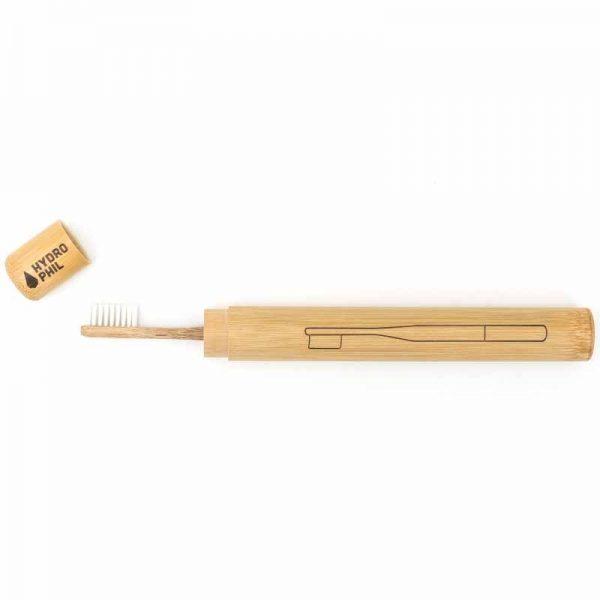 Portaspazzolino in bambu