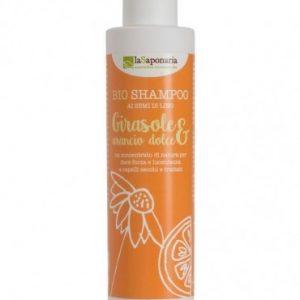 Shampoo capelli secchi ARANCIO DOLCE e GIRASOLE (200ml)