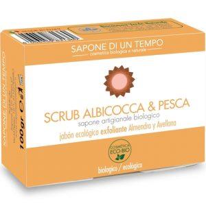 Sapone Scrub Albicocca e Pesca